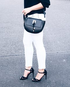 Style Diary :: Black & White Date Night and the *perfect* Black Crossbody