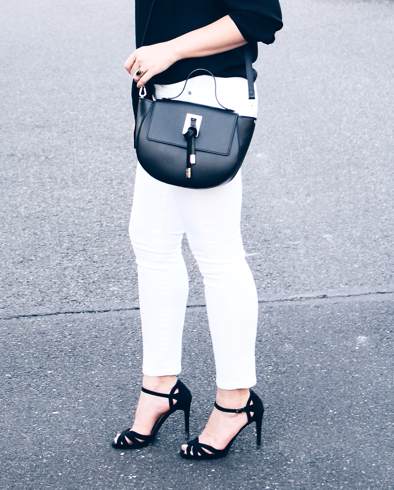 Style Diary    Black   White Date Night and the  perfect  Black Crossbody b4bc91a45