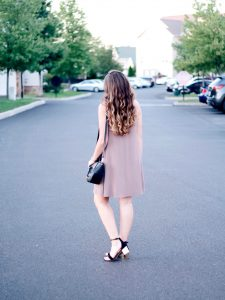 Style Diary :: Late Summer Blush Dress