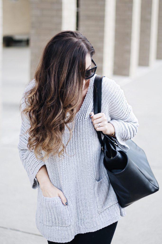 Comfy Casual Black & Grey