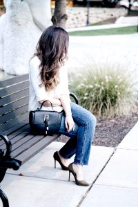 Style Diary :: Mom Jeans & Olive Pumps