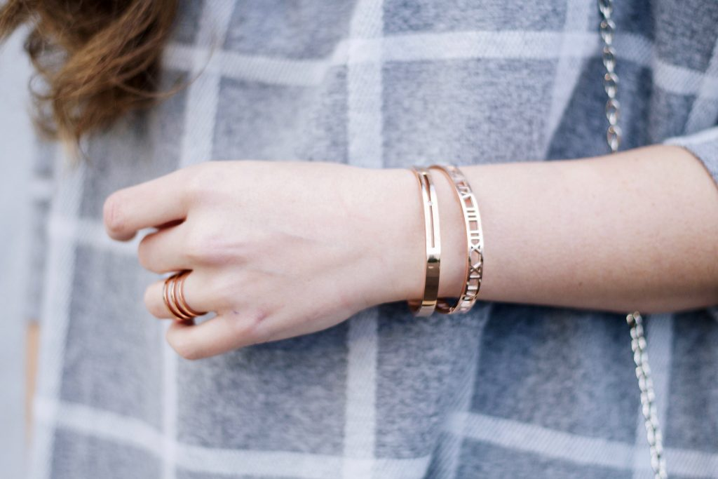Rose Gold Bangles and Ring