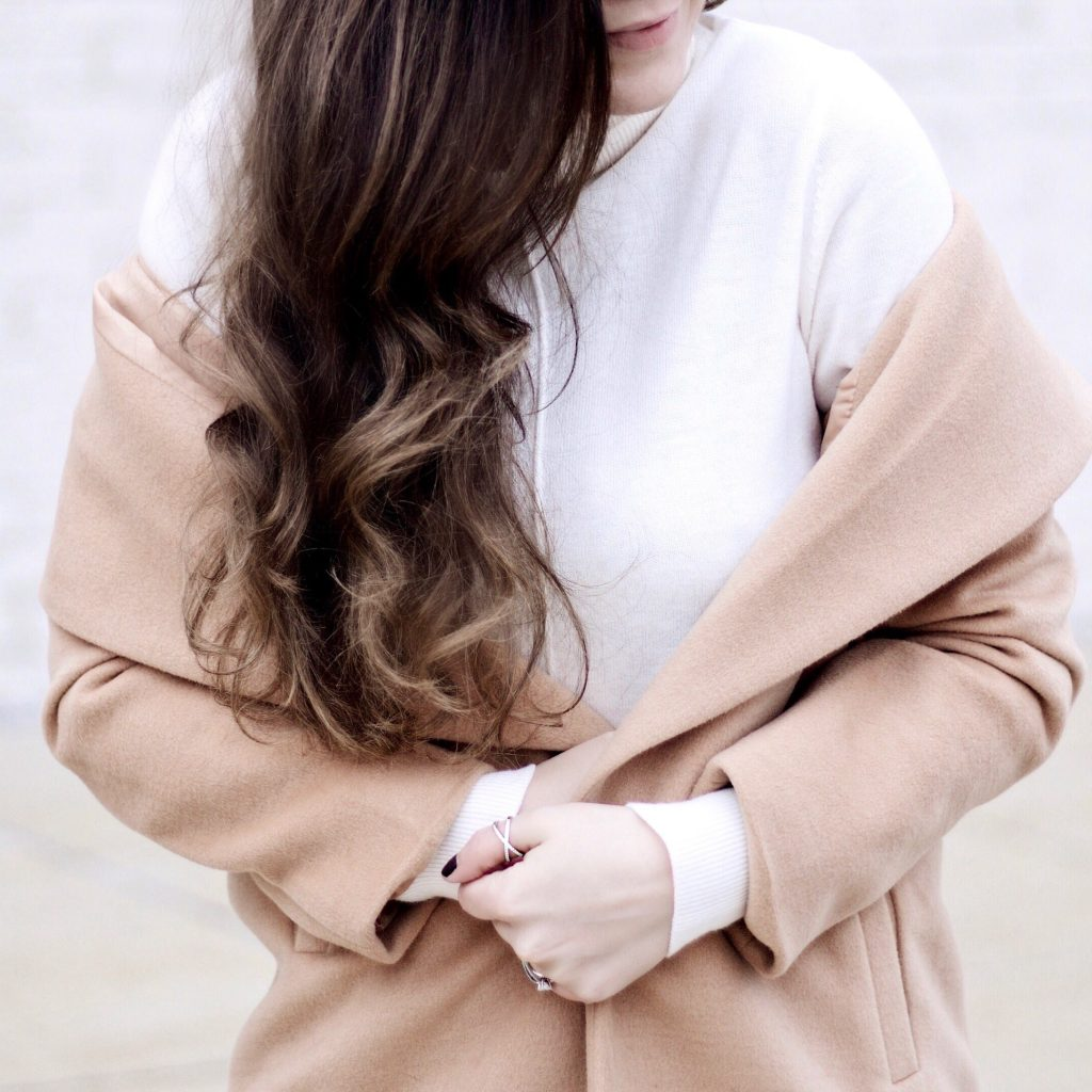 Winter Blush and Black Look