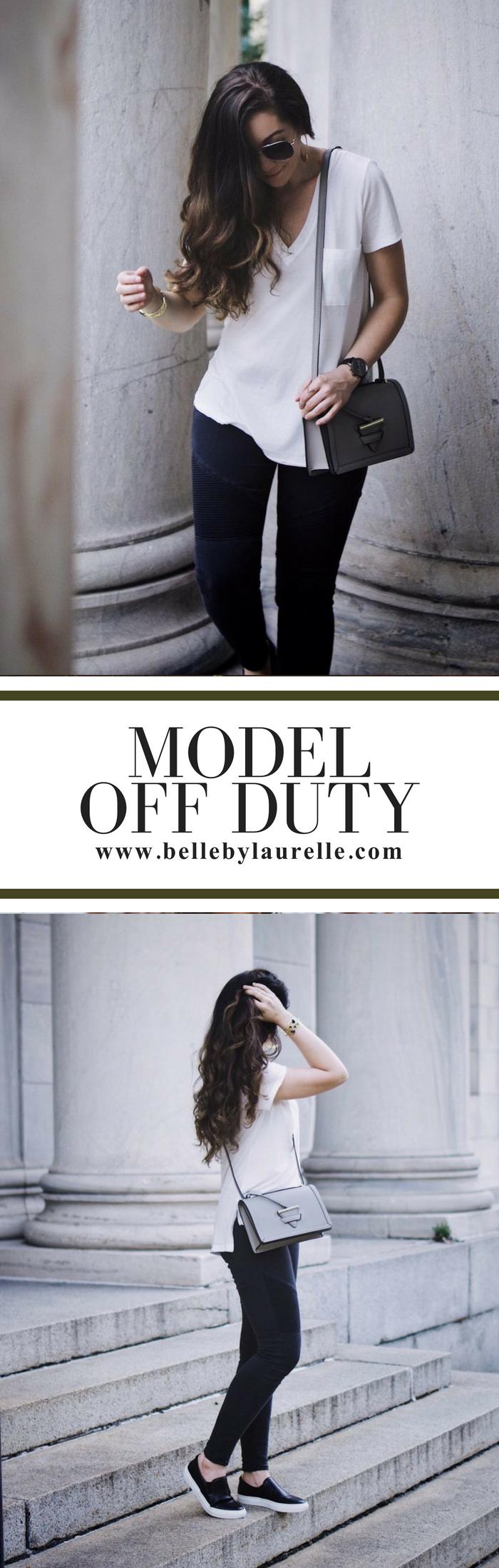 Belle by Laurelle Model Off Duty Fashion Blog