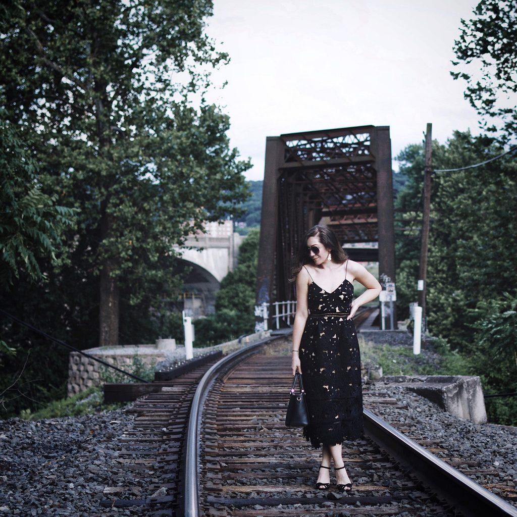 Mejuri Rings, NAKD Fashion Midi Dress, Lulu Milano Bag