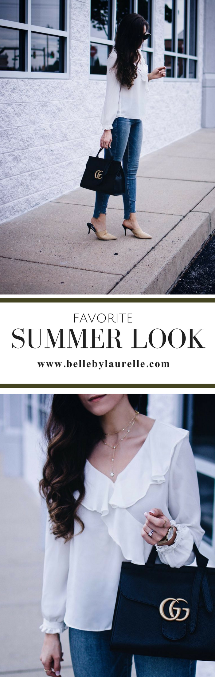 Belle by Laurelle Favorite Summer Look Gucci Fashion Blog