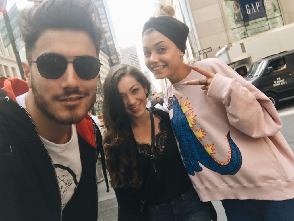New York Fashion Week - Ricky Gismondi Camilla Mangiapella