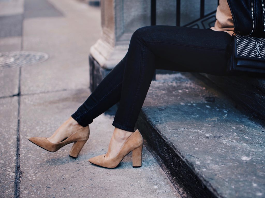 Shoes of Prey Design Collaboration, Camel Block Heel Pumps and Taupe Boots
