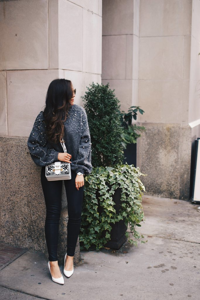 Pearl Embellishments and White for Winter