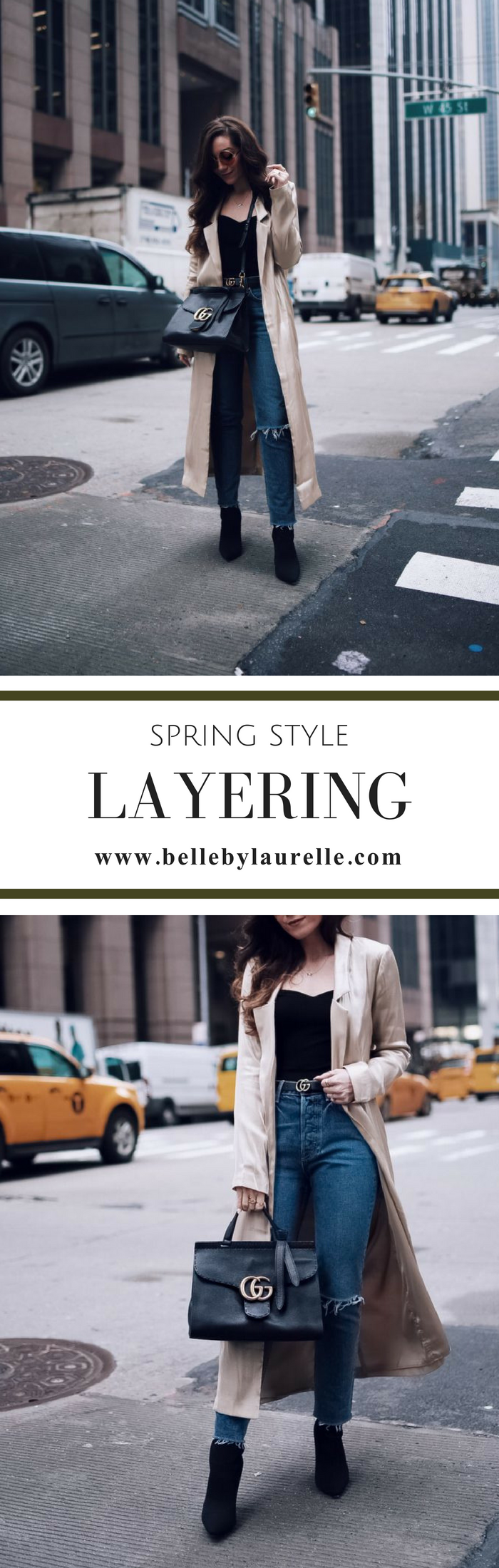 HOW TO LAYER FOR SPRING STYLE Belle by Laurelle