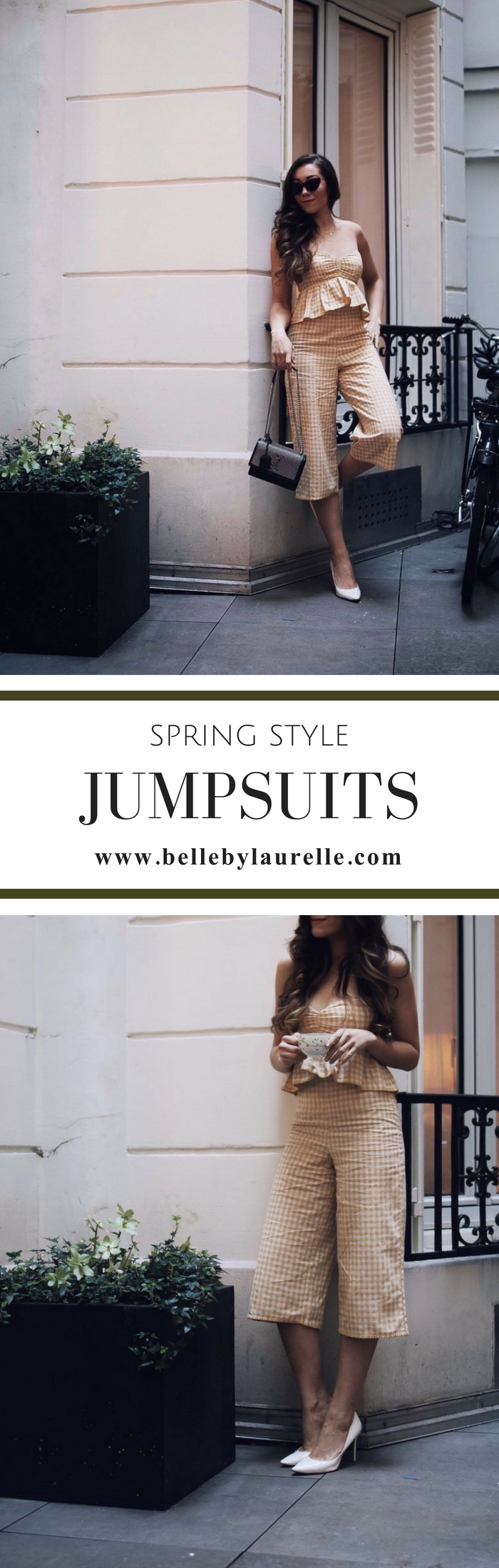 SPRING STYLE JUMPSUITS Belle by Laurelle