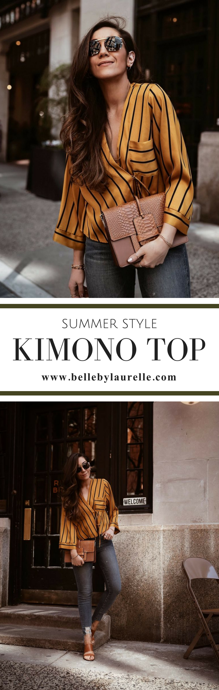 Belle by Laurelle Summer Style Kimono Top