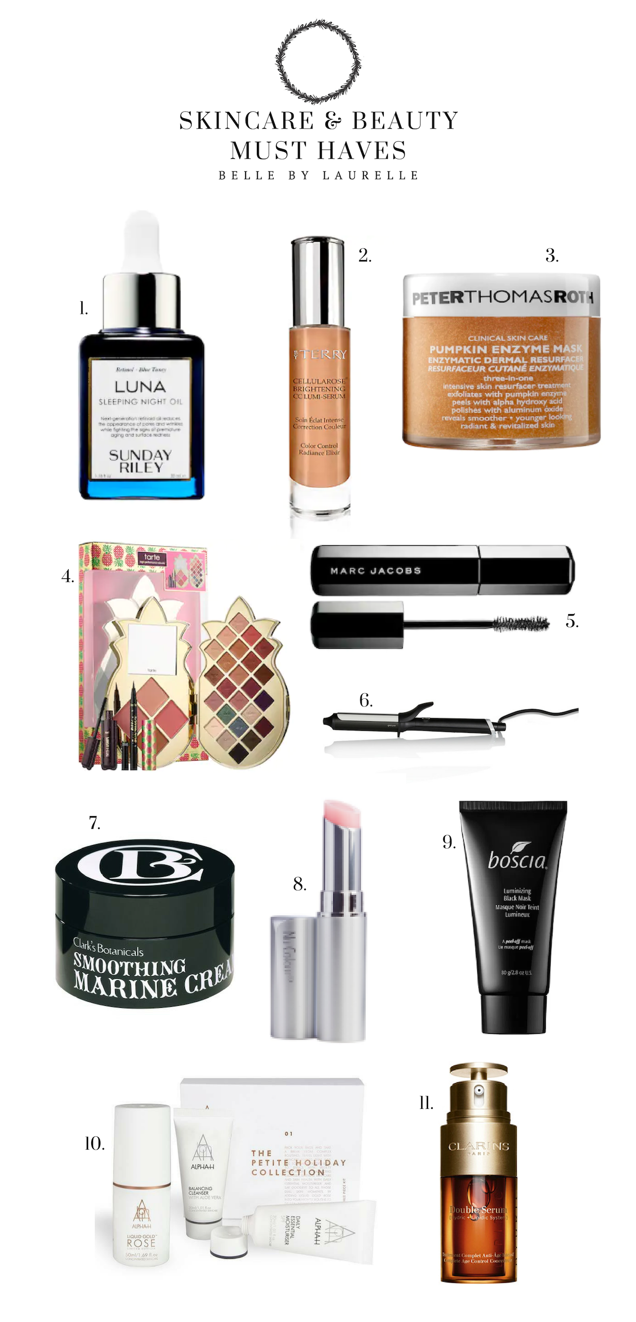 Beauty and Skincare Must Haves Christmas Gift Guide Belle by Laurelle Fashion Blog
