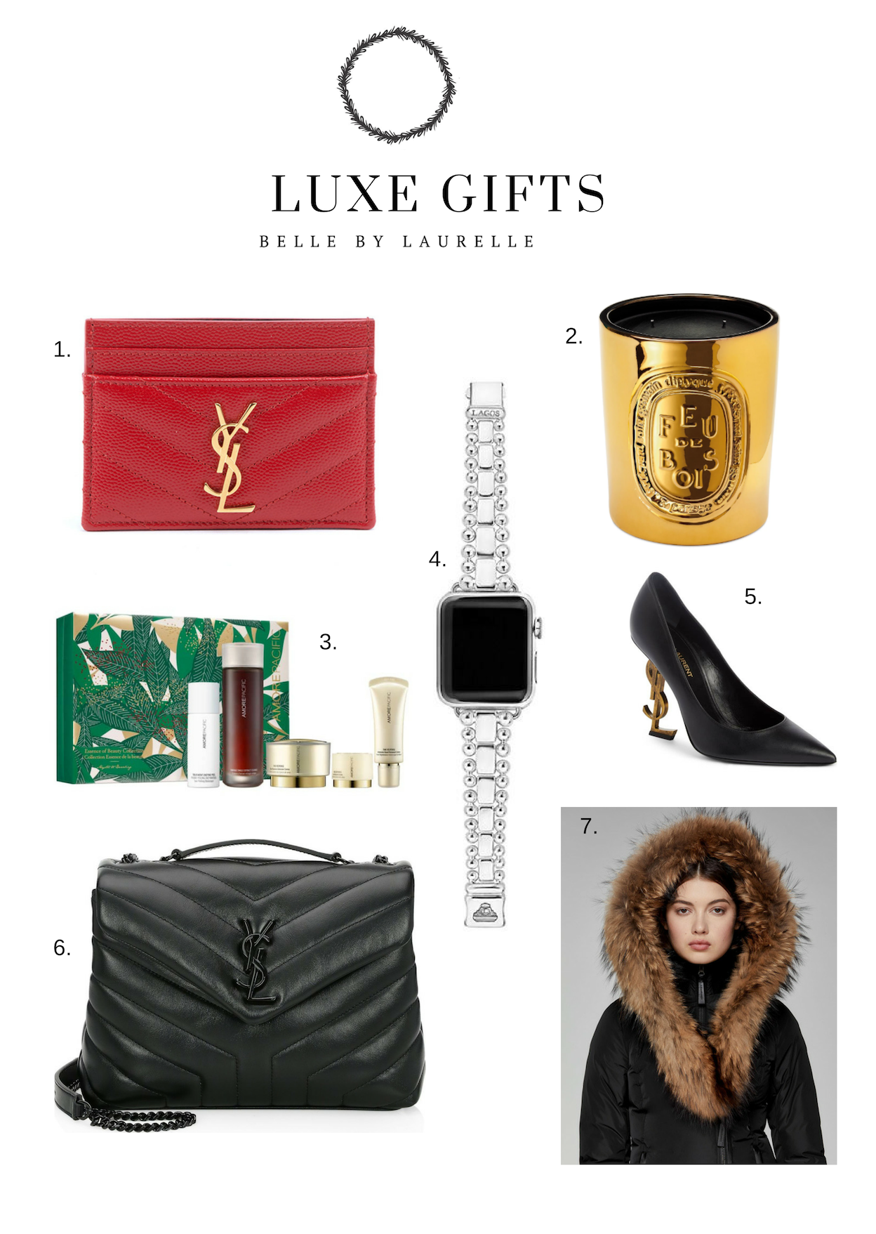 Special Luxe Gifts Christmas Gift Guide Belle by Laurelle Fashion Blog