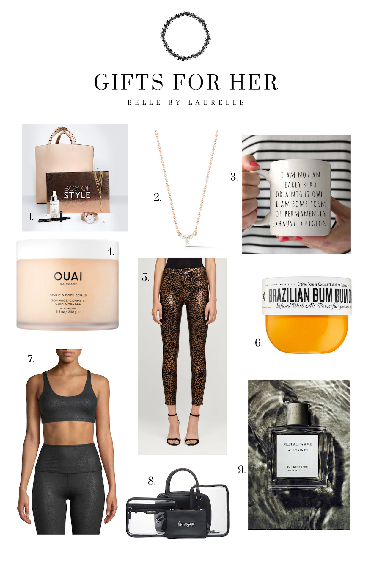Gifts for Her Christmas Gift Guide Belle by Laurelle Fashion Blog